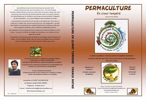 livre Permaculture en climat tempéré de Franck Nathié