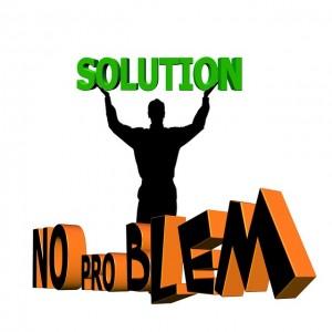 Il n'y a que des solutions!