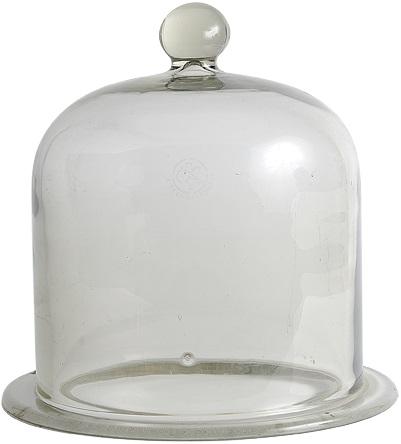 Cloche à vide en verre