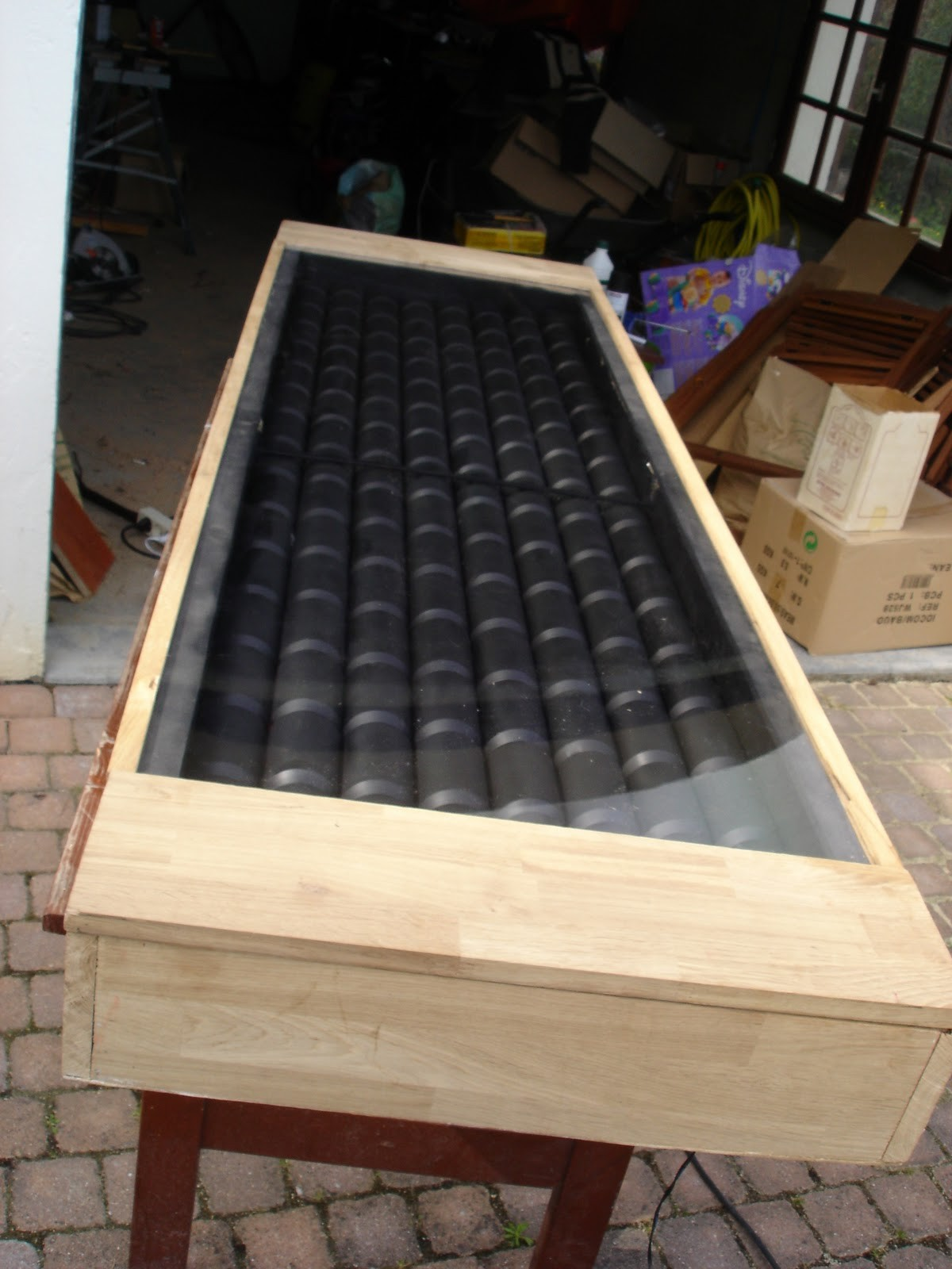 Construire son propre panneau solaire permaculture - Fabriquer chauffage solaire piscine ...