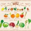 Miam-Miam MARS Fruits et légumes de saison