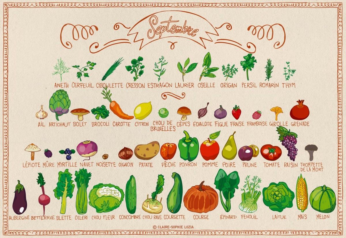 miam miam septembre fruits et l 233 gumes de saison permaculture