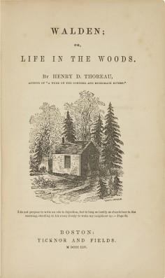 THOREAU HENRY DAVID - Walden ou La Vie dans les bois