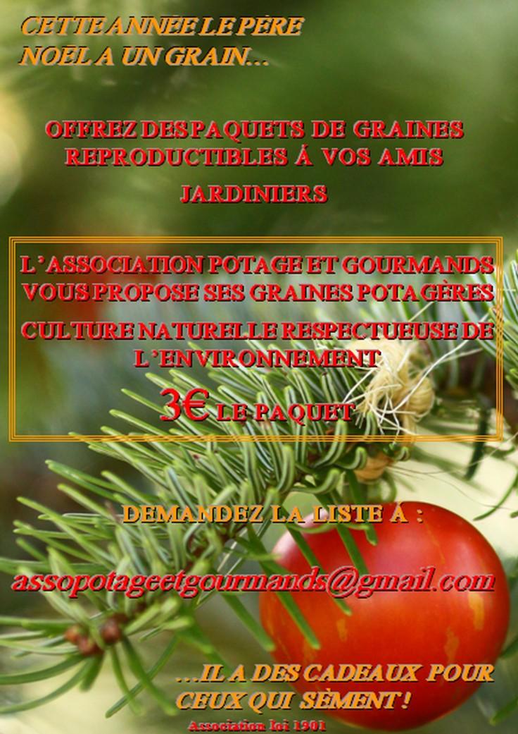 Offrez des graines potagères reproductibles pour Noël!
