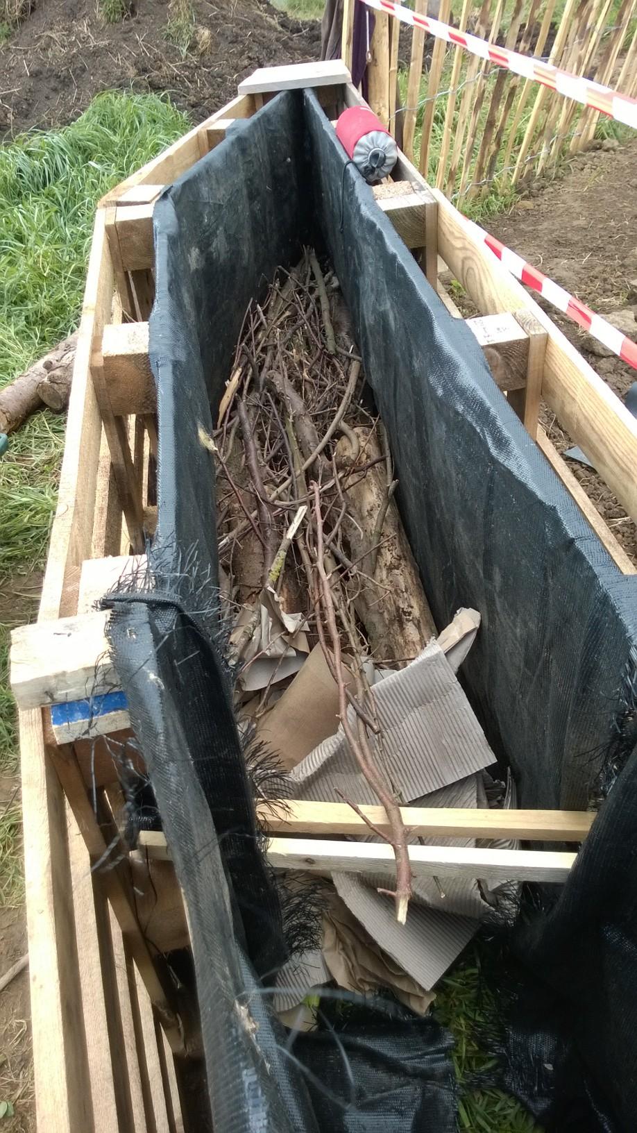 Les couches successives permaculture - 2 fausse couche successives ...