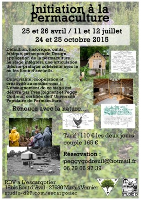 stages d\'introduction à la Permaculture