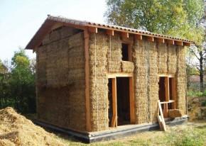 Construction maison en paille + terre