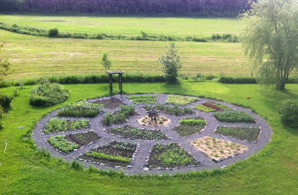 Jardin am rindien permaculture for Jardin mandala
