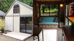 Tiny House au look pseudo-asiatique