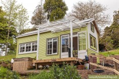La Tiny House de Shaye et Tom en Nouvelle-Zélande
