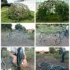 Fabriquer un abri de jardin végétal