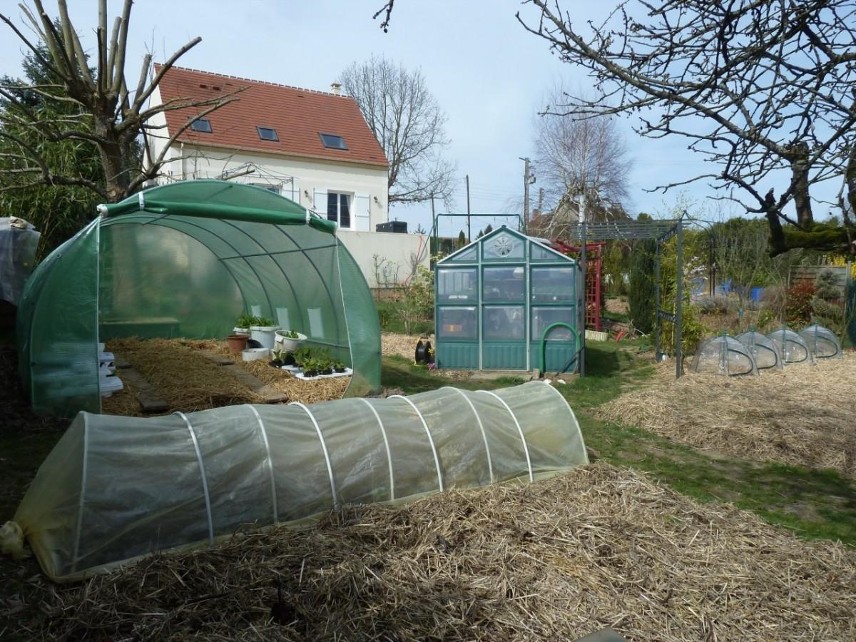 Petite Serre Tunnel Fait Maison Permaculture