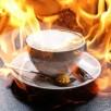 salive enzyme café