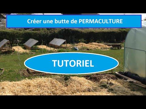 Tutoriel permaculture cr er une butte de permaculture for Creer une butte permaculture