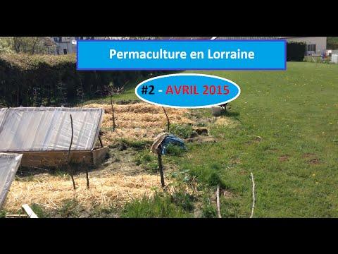 2 permaculture en lorraine avril 2015 visite du for Jardin permaculture 2015