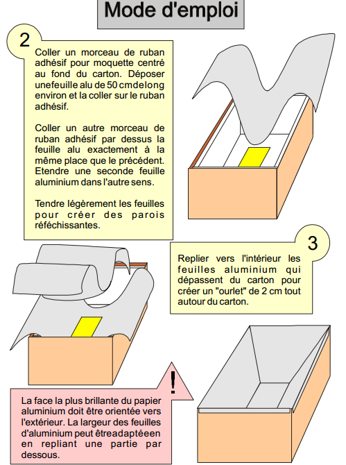 construire un four solaire (5)