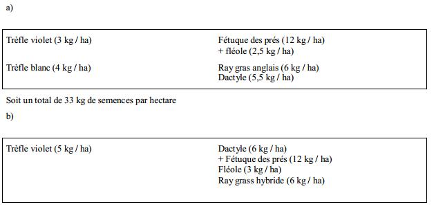 Semer des prairies à base de mélanges d'espèces (2)