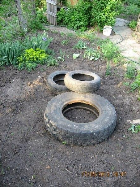 etang piscine vieux pneus (10)