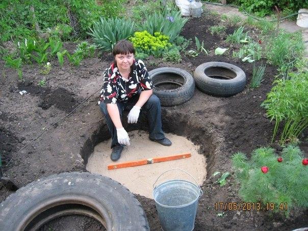 etang piscine vieux pneus (6)