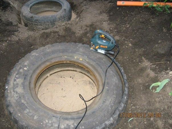 etang piscine vieux pneus (3)