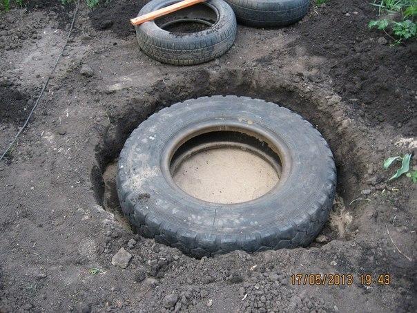etang piscine vieux pneus (4)
