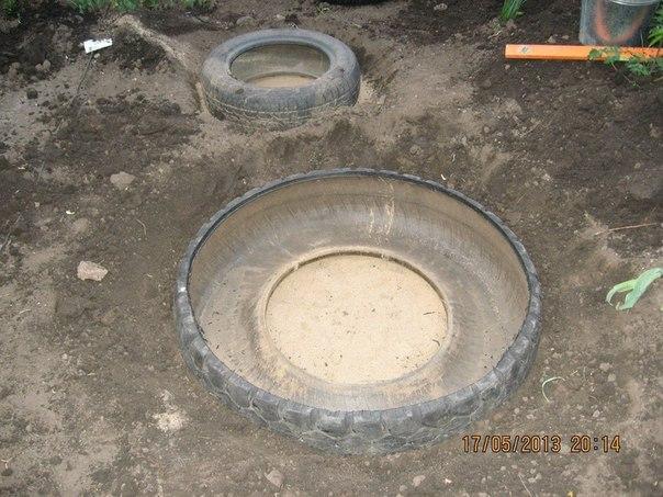 etang piscine vieux pneus (9)