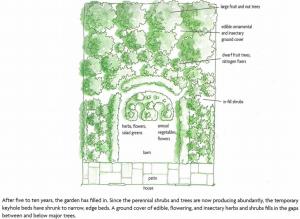 © Gaïa's Garden, Chelsea Green Publishing Company, Toby Hemenway, 2009