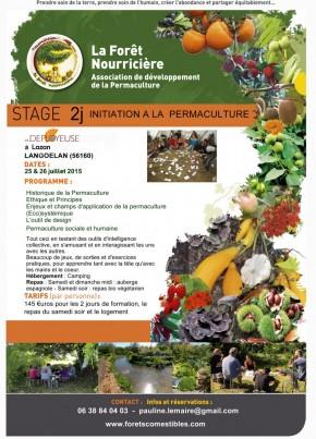 Stage d'initiation à la permaculture en Centre Bretagne (2 jours)