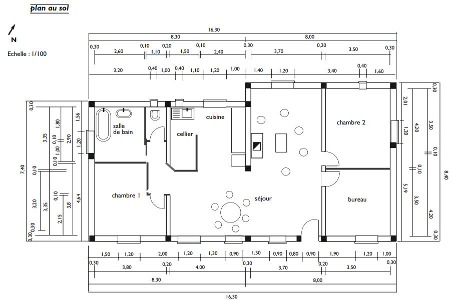 dossier ete auto construction dune maison partie 16 permaculture - Logiciel Pour Faire Plan De Maison