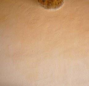 Badigeon avec une pincée d'ocre