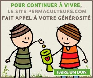 Soutenir notre projet de permaculture francophone en cliquant ici