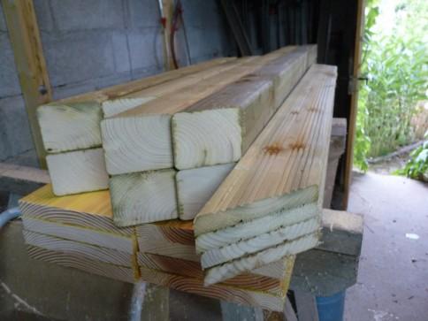Le stock de bois