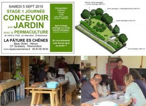 Stage 1 journée : comment concevoir son jardin avec la permaculture