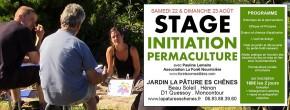 Stage 2 jours : initiation à la permaculture avec Pauline Lemaire, Association La Forêt Nourricière