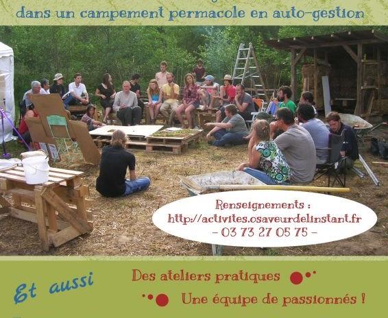 Cours Certifié de Permaculture du 5 au 18 août 2016 en Bourgogne