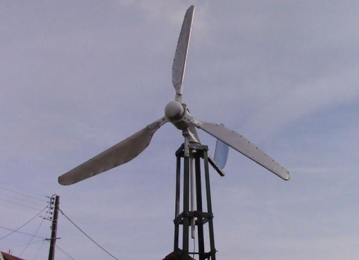 construction d'une petite éolienne