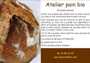 Atelier pain bio au levain naturel