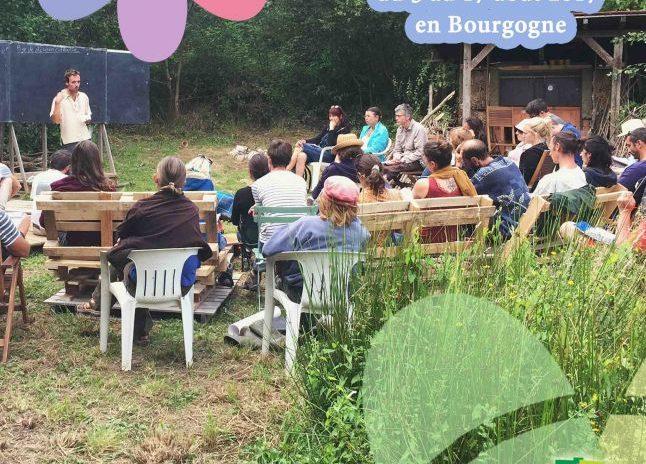 Cours Certifié de Permaculture en Bourgogne Août 2017